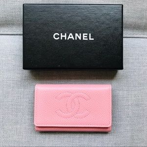 Chanel Caviar Leather Classic Key Holder